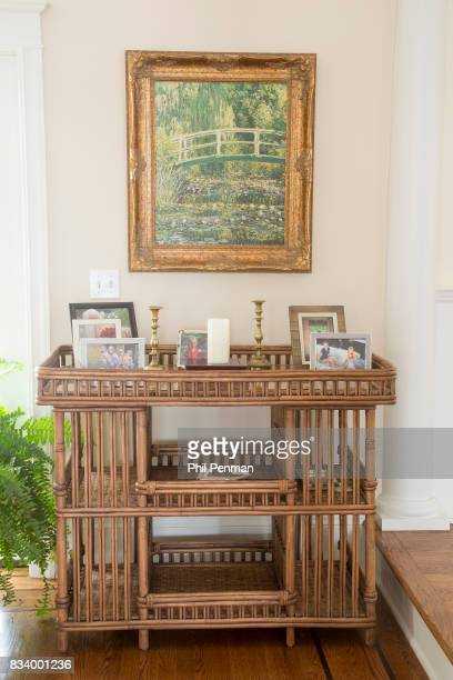 Journalist Ashleigh Banfield's home is photographed for Closer Weekly Magazine on March 4 2017 in Connecticut