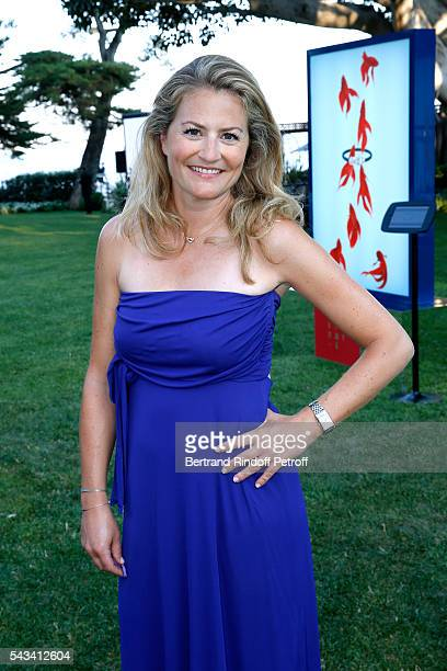 Journalist Astrid Bard attends Fred Jeweler Celebrates 80 Years of Creation at Hotel Cap Estel in Eze France on June 23 2016