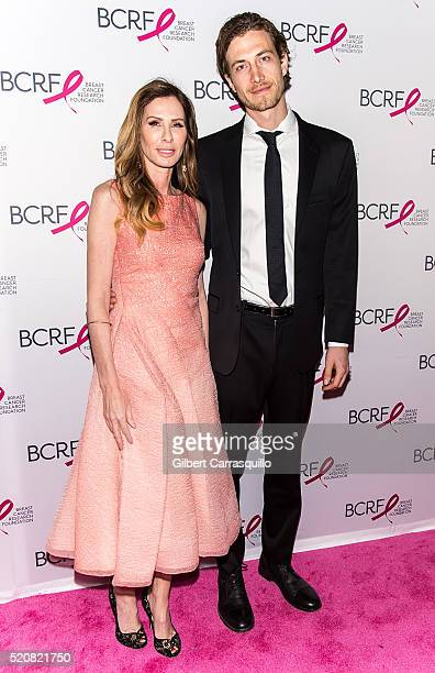 Journalist author and reality television personality Carole Radziwill and Adam Kenworthy attend the 2016 Breast Cancer Research Foundation Hot Pink...