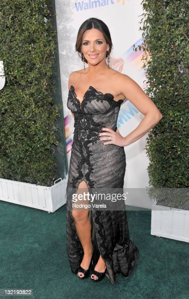 Journalist Barbara Bermudo arrives at the 12th Annual Latin GRAMMY Awards held at the Mandalay Bay Resort Casino on November 10 2011 in Las Vegas...