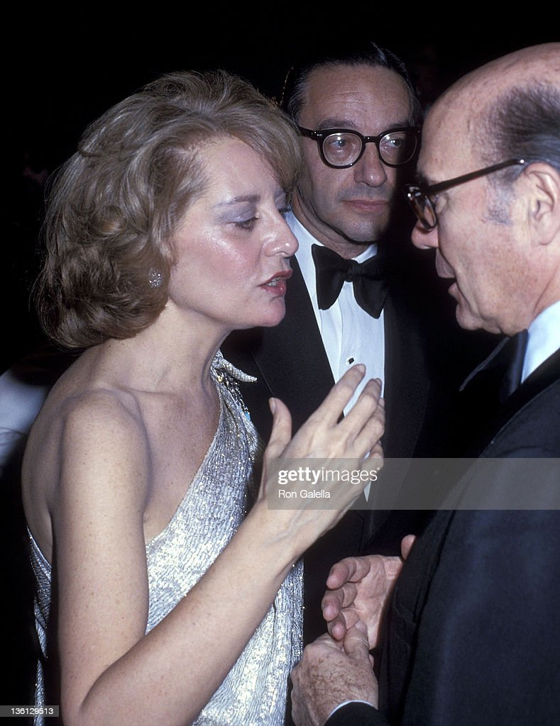 TV journalist Barbara Walters and economist Alan Greenspan attend the 'Superman' Washington DC Premiere on December 10 1978 at the Eisenhower Theater...