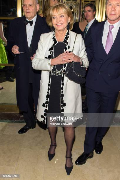 Journalist Barbara Walters attends the 7th Annual Carnegie Hall Medal Of Excellence Gala Honoring Oscar de la Renta at The Plaza Hotel on April 24...