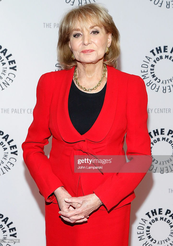 Journalist <a gi-track='captionPersonalityLinkClicked' href=/galleries/search?phrase=Barbara+Walters&family=editorial&specificpeople=201871 ng-click='$event.stopPropagation()'>Barbara Walters</a> attends The Paley Center For Media Presents: 2013 Benefit Dinner Honoring Tim Armstrong at Espace on May 15, 2013 in New York City.