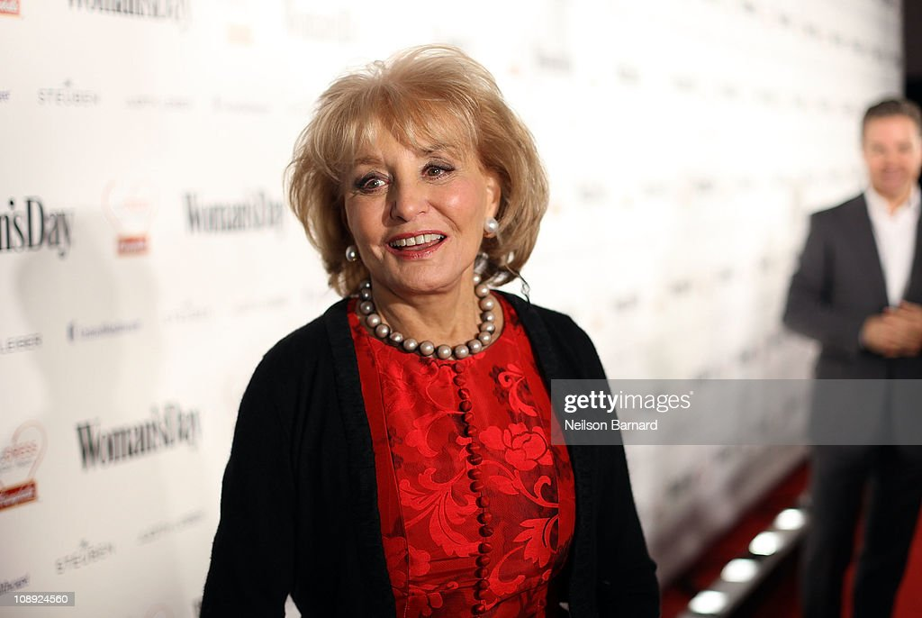 Journalist <a gi-track='captionPersonalityLinkClicked' href=/galleries/search?phrase=Barbara+Walters&family=editorial&specificpeople=201871 ng-click='$event.stopPropagation()'>Barbara Walters</a> attends the Woman's Day 8th Annual Red Dress Awards at Jazz at Lincoln Center on February 8, 2011 in New York City.