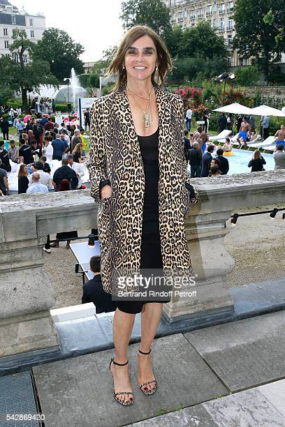 Journalist Carine Roitfeld attends the Berluti Menswear Spring/Summer 2017 show as part of Paris Fashion Week on June 24 2016 in Paris France