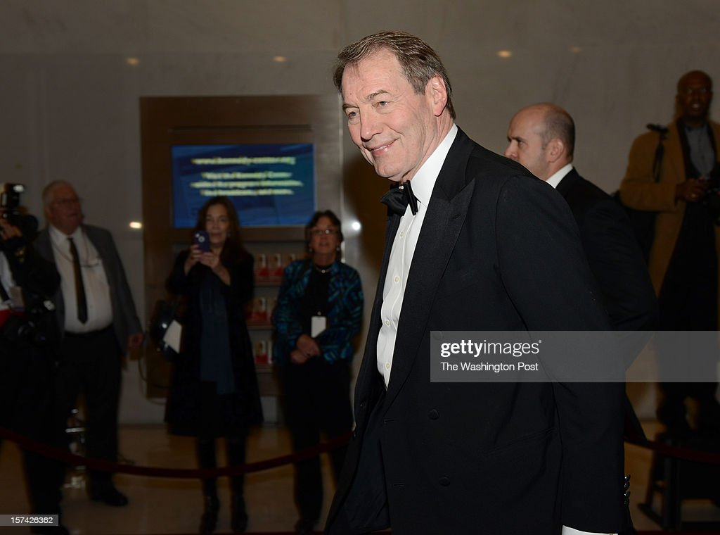 PBS journalist Charlie Rose arrives at the 35th Annual Kennedy Center Honors Gala in Washington, DC on December 2, 2012. Among the honorees this year are comedian David Letterman, actor Dustin Hoffman, musician Buddy Guy, Led Zepplin band and ballerina Natalia Makarova.