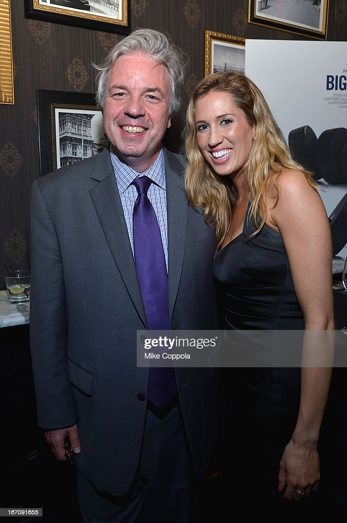 Journalist Chris Connelly (L) attends the ESPN Sports Film Festival Gala: 'Big Shot' after party during the 2013 Tribeca Film Festival on April 19, 2013 in New York City.
