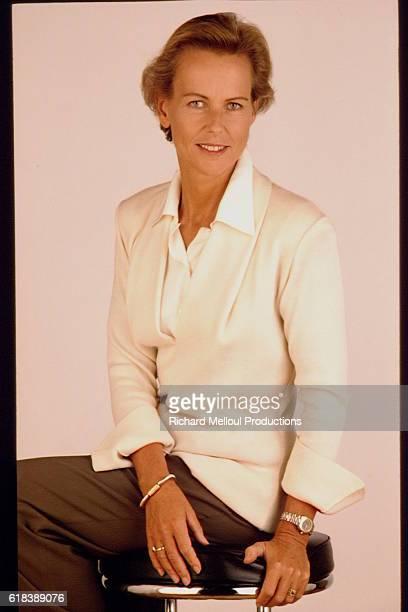 Journalist Christine Ockrent