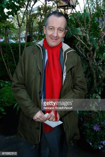 Journalist Christophe Barbier attends 'La Closerie des Lilas' Literary Awards 2017 at La Closerie des Lilas on April 19 2017 in Paris France