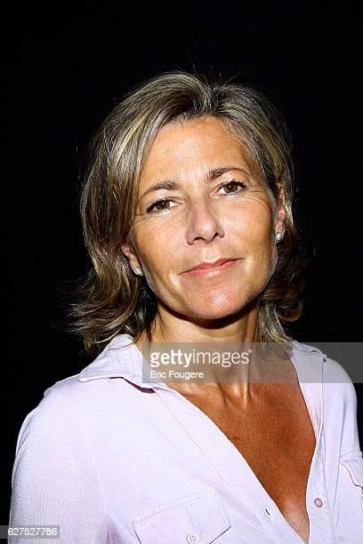 Journalist Claire Chazal at the 1st 'Salon de la Tele' held in Paris