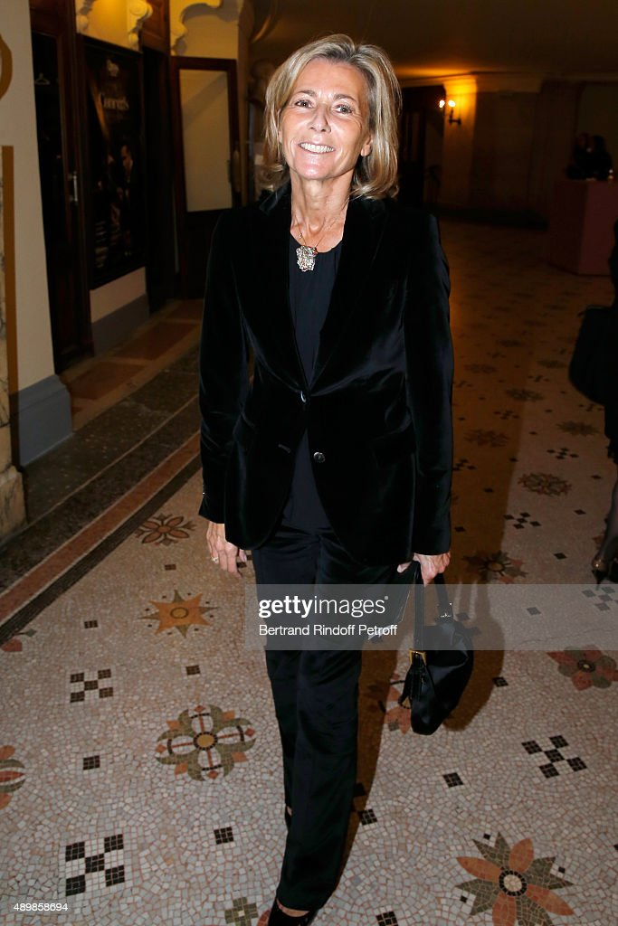 Journalist Claire Chazal attends the Ballet National de Paris Opening Season Gala at Opera Garnier on September 24, 2015 in Paris, France.