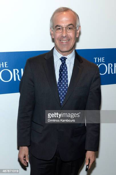 Journalist David Brooks attends the White House Correspondents' Dinner Weekend PreParty hosted by The New Yorker's David Remnick at the W Hotel...