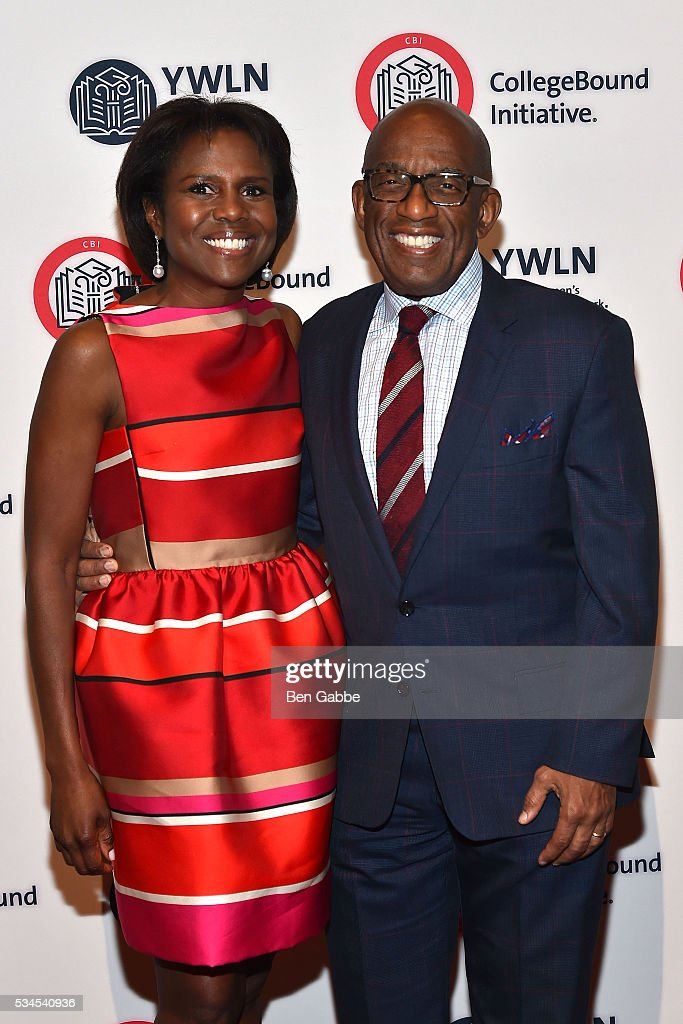 Journalist <a gi-track='captionPersonalityLinkClicked' href=/galleries/search?phrase=Deborah+Roberts&family=editorial&specificpeople=214075 ng-click='$event.stopPropagation()'>Deborah Roberts</a> (L) and TV personality <a gi-track='captionPersonalityLinkClicked' href=/galleries/search?phrase=Al+Roker&family=editorial&specificpeople=206153 ng-click='$event.stopPropagation()'>Al Roker</a> attend the 2016 CollegeBound Initiative Celebration at Jazz at Lincoln Center on May 26, 2016 in New York City.