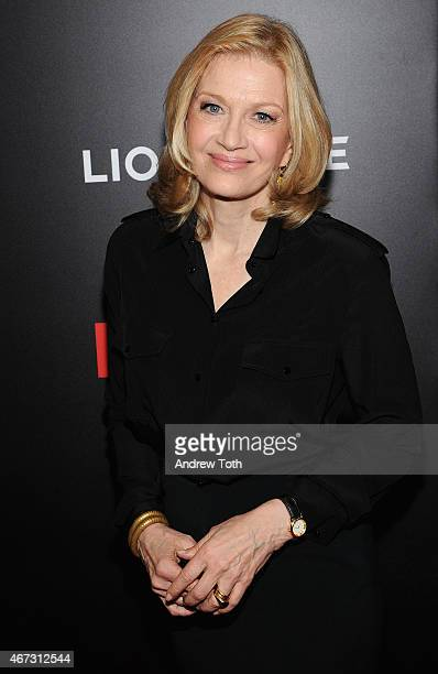 Journalist Diane Sawyer attends the 'Mad Men' New York special screening at The Museum of Modern Art on March 22 2015 in New York City