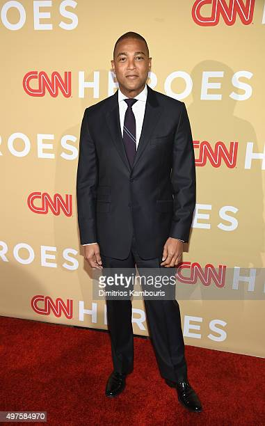 Journalist Don Lemon attends CNN Heroes 2015 Red Carpet Arrivals at American Museum of Natural History on November 17 2015 in New York City 25619_023