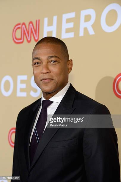 Journalist Don Lemon attends CNN Heroes 2015 Red Carpet Arrivals at American Museum of Natural History on November 17 2015 in New York City 25619_022