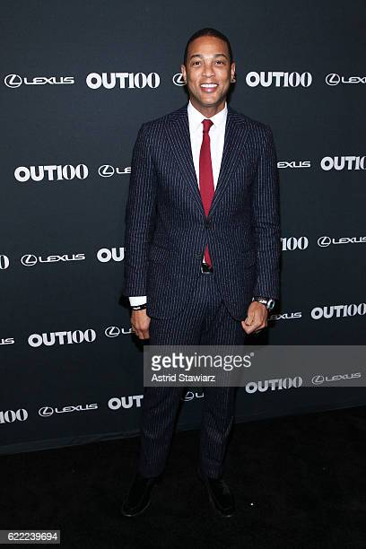 Journalist Don Lemon attends the 2016 OUT100 Gala at Metropolitan West on November 10 2016 in New York City