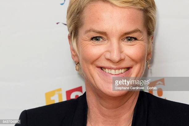 Journalist Elise Lucet attends the France Television 2016/2017 Photocall on June 29 2016 in Paris France