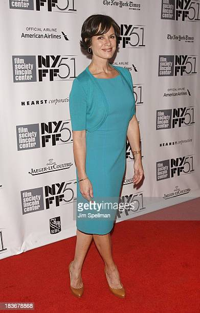 Journalist Elizabeth Vargas attends the 'All Is Lost' Premiere during the 51st New York Film Festival at Alice Tully Hall at Lincoln Center on...