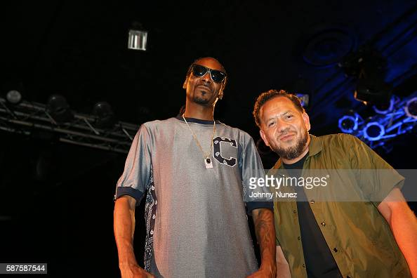 Journalist Elliott Wilson interviews Snoop Dogg at Highline Ballroom on August 8 2016 in New York City