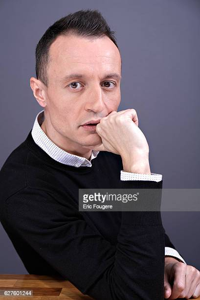 Journalist Eric Dussart Photographed in PARIS