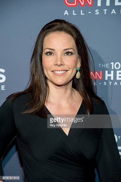 journalist Erica Hill attends the 10th Anniversary CNN Heroes at American Museum of Natural History on December 11 2016 in New York City