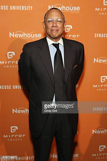 Journalist/ executive editor at The New York Times Dean Baquet attends the Mirror Awards '15 at Cipriani 42nd Street on June 11 2015 in New York City