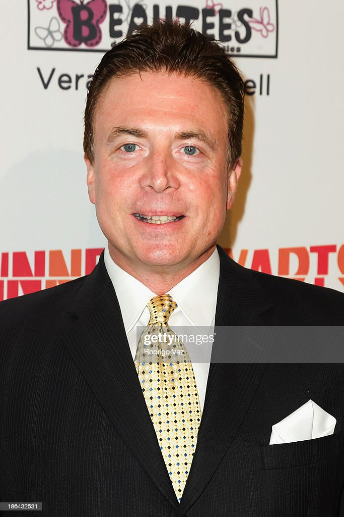 Journalist Frank Mottek attends the Inner-City Arts Imagine Gala at The Beverly Hilton Hotel on October 30, 2013 in Beverly Hills, California.