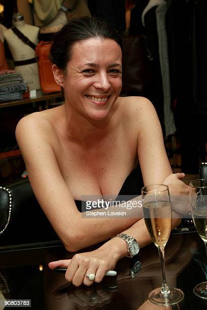 Journalist Garance Dore attends Barneys New York 'The Sartorialist' Book Signing at Barneys New York on September 15 2009 in New York New York
