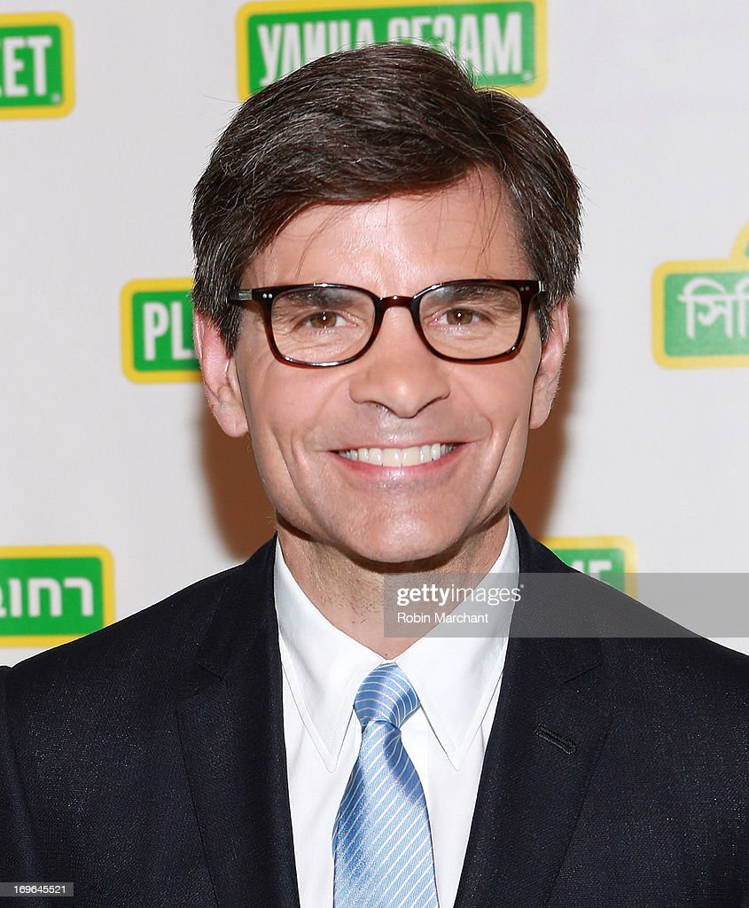 Journalist <a gi-track='captionPersonalityLinkClicked' href=/galleries/search?phrase=George+Stephanopoulos&family=editorial&specificpeople=206404 ng-click='$event.stopPropagation()'>George Stephanopoulos</a> attends 11th Annual Sesame Street Workshop Benefit Gala at Cipriani 42nd Street on May 29, 2013 in New York City.