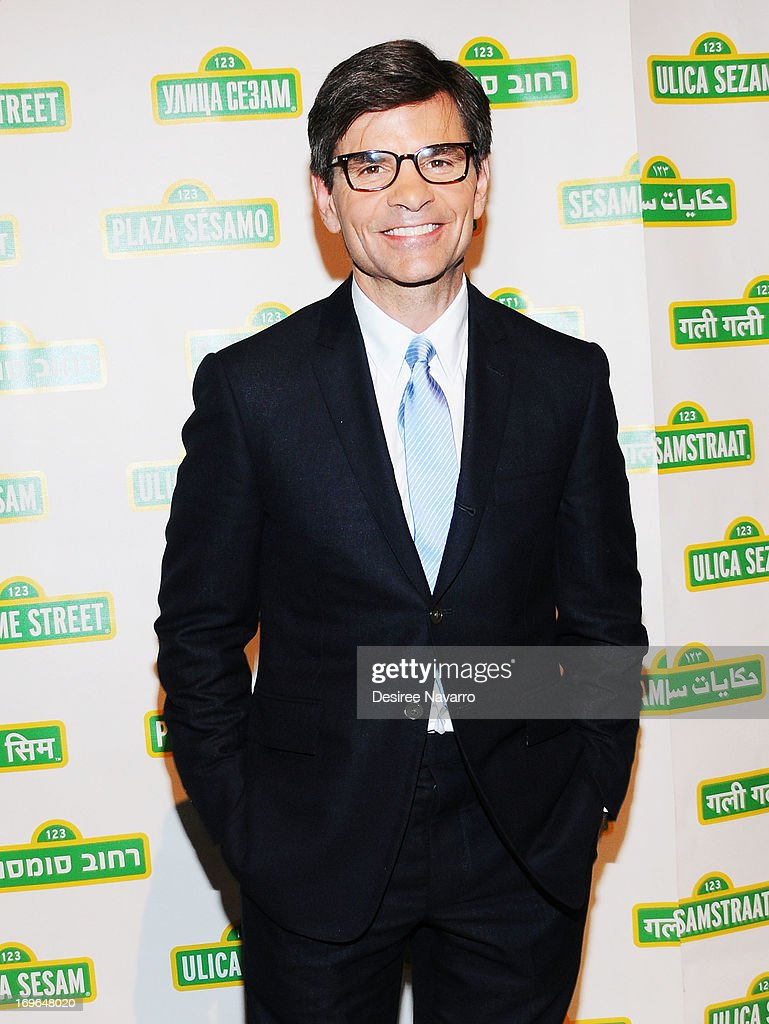 TV Journalist <a gi-track='captionPersonalityLinkClicked' href=/galleries/search?phrase=George+Stephanopoulos&family=editorial&specificpeople=206404 ng-click='$event.stopPropagation()'>George Stephanopoulos</a> attends the 11th annual Sesame Street Workshop Benefit Gala at Cipriani 42nd Street on May 29, 2013 in New York City.
