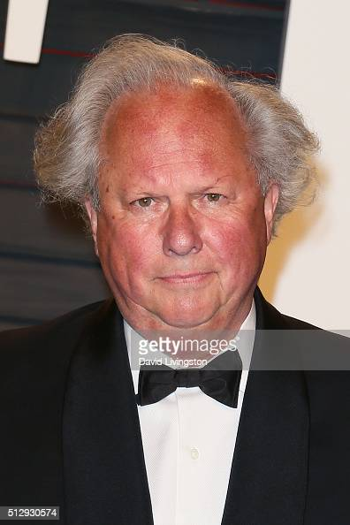 Journalist Graydon Carter arrives at the 2016 Vanity Fair Oscar Party Hosted by Graydon Carter at the Wallis Annenberg Center for the Performing Arts...