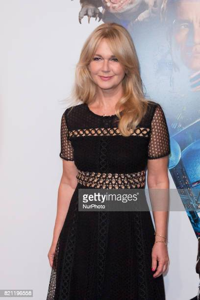 Journalist Grazyna Torbicka during the 'Valerian and the City of a Thousand Planets' movie premiere at Multikino Zlote Tarasy cinema in Warsaw Poland...