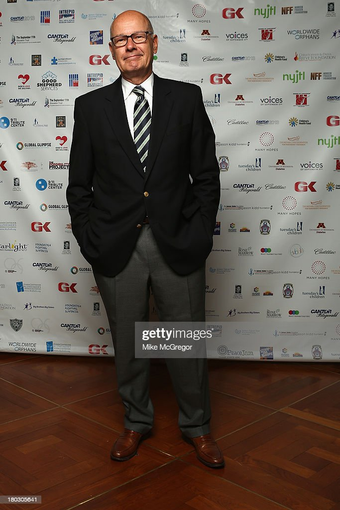 Journalist Harry Smith attends the Annual Charity Day Hosted By Cantor Fitzgerald And BGC at the Cantor Fitzgerald Office on September 11 2013 in New...