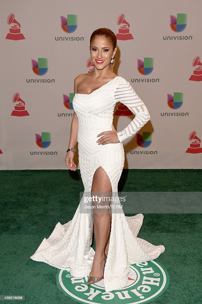 Journalist Jackie Guerrido attends the 15th Annual Latin GRAMMY Awards at the MGM Grand Garden Arena on November 20, 2014 in Las Vegas, Nevada.