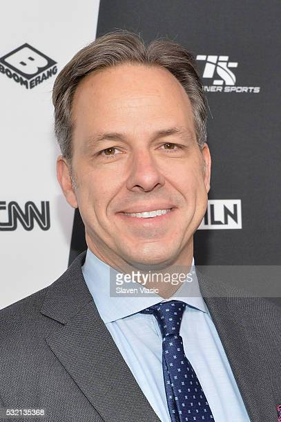 Journalist Jake Tapper attends the Turner Upfront 2016 at Nick Stef's Steakhouse on May 18 2016 in New York City