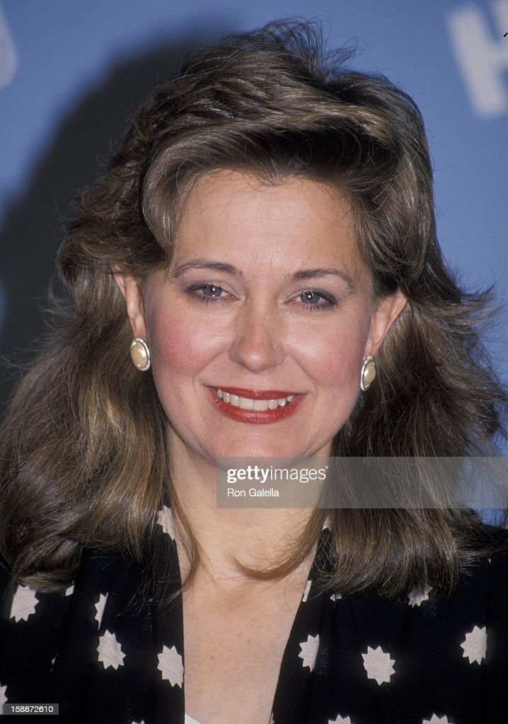 Journalist Jane Pauley attending 'Comic Relief Benefit' on May 12, 1990 at Radio City Music Hall in New York City, New York.