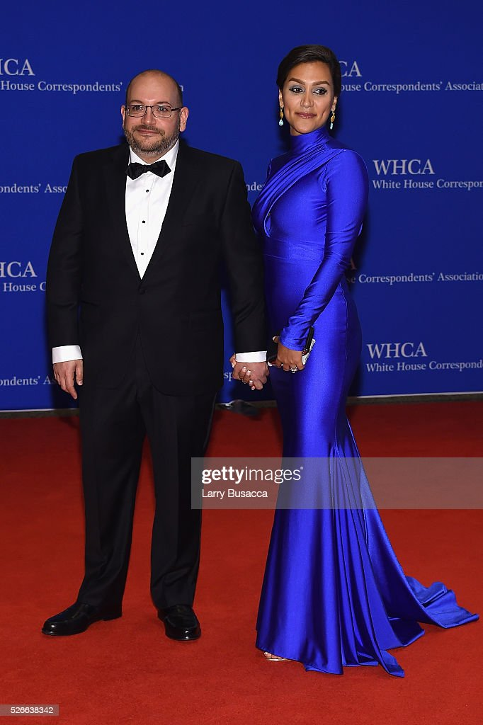 Journalist Jason Rezaian (L) and Yeganeh Salehi attend the 102nd White House Correspondents' Association Dinner on April 30, 2016 in Washington, DC.