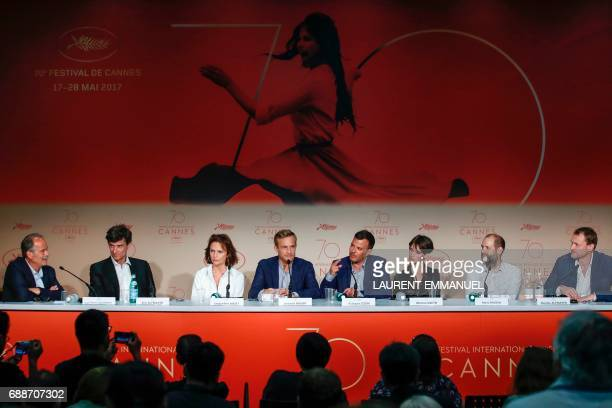 Journalist JeanPierre Lavoignat French producer Eric Altmayer British actress Jacqueline Bisset Belgian actor Jeremie Renier French director Francois...