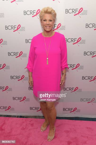 Journalist Joan Lunden arrives at the Breast Cancer Research Foundation New York Symposium and Awards Luncheon at New York Hilton on October 19 2017...