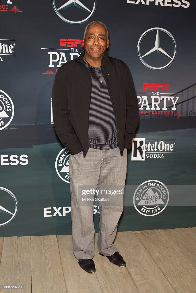 Journalist John Saunders arrives at the annual ESPN The Party at Fort Mason Center on February 5, 2016 in San Francisco, California.
