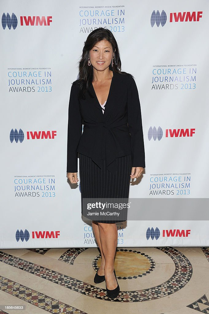 TV journalist Juju Chang attends the International Women's Media Foundation's 2013 Courage In Journalism And Lifetime Achievement Awards at Cipriani 42nd Street on October 23, 2013 in New York City.