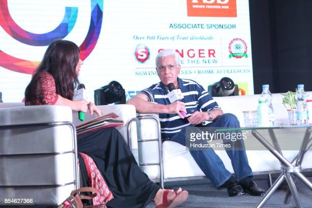 Journalist Karan Thapar during the seventh edition of Shri Ram College of Commerce Youth Conference to inspire students on September 23 2017 in New...