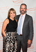 Journalist Katie Couric and John Molner attend the Michael J Fox Foundation's 'A Funny Thing Happened On The Way To Cure Parkinson's' Gala at The...