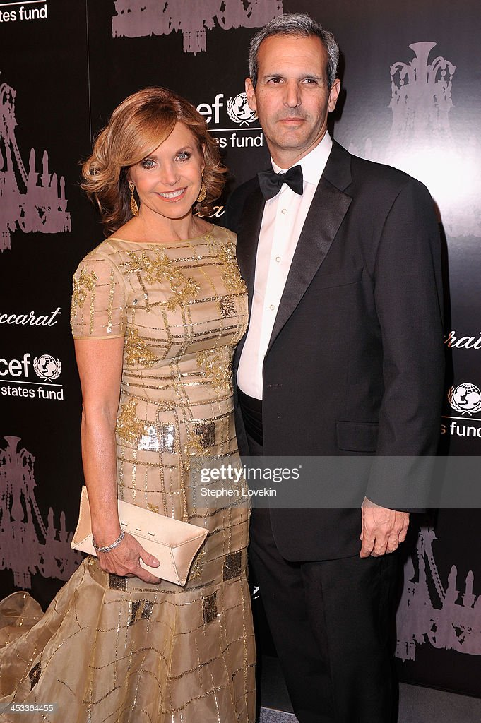 Journalist Katie Couric and John Molner attend The Ninth Annual UNICEF Snowflake Ball at Cipriani Wall Street on December 3 2013 in New York City