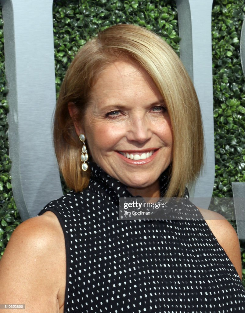 Journalist Katie Couric attends the 17th Annual USTA Foundation Opening Night Gala at USTA Billie Jean King National Tennis Center on August 28, 2017 in the Queens borough of New York City.