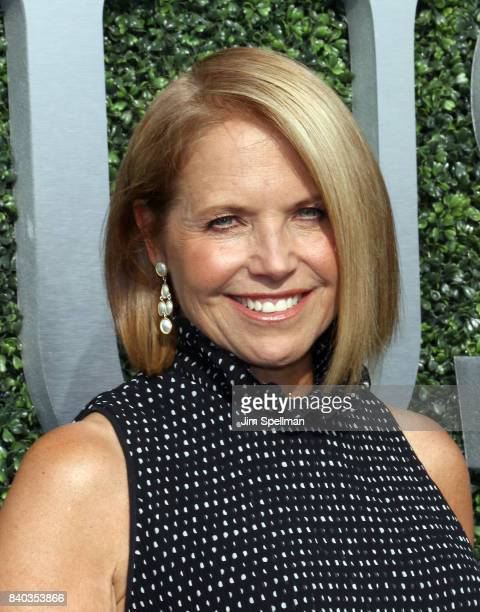 Journalist Katie Couric attends the 17th Annual USTA Foundation Opening Night Gala at USTA Billie Jean King National Tennis Center on August 28 2017...