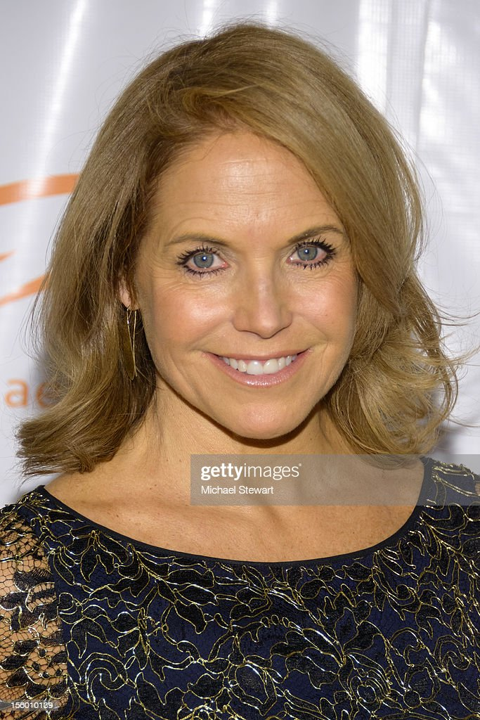 Journalist Katie Couric attends the 2012 A Funny Thing Happened On The Way To Cure Parkinson's at The Waldorf=Astoria on November 10, 2012 in New York City.