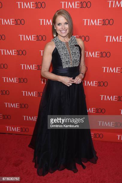 Journalist Katie Couric attends the 2017 Time 100 Gala at Jazz at Lincoln Center on April 25 2017 in New York City