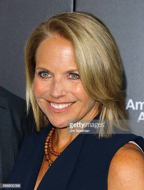 Journalist Katie Couric attends the 'Sully' New York premiere at Alice Tully Hall Lincoln Center on September 6 2016 in New York City